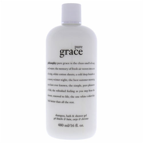 Philosophy Pure Grace Shampoo Bath & Shower Gel Perspective: front