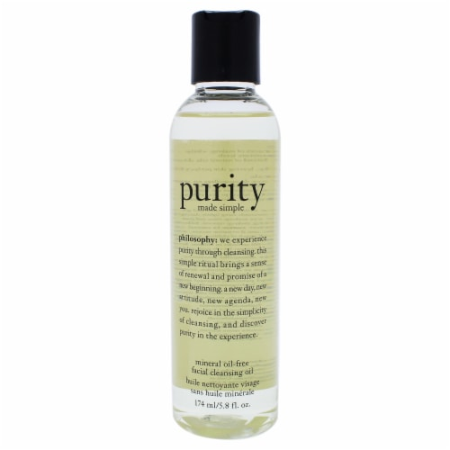 Purity Made Simple Mineral oil-Free Facial Cleansing Oil Perspective: front