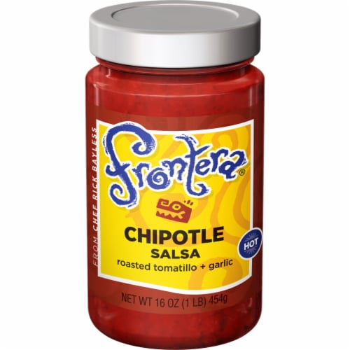 Frontera Gourmet Mexican Chipotle Hot Salsa Perspective: front