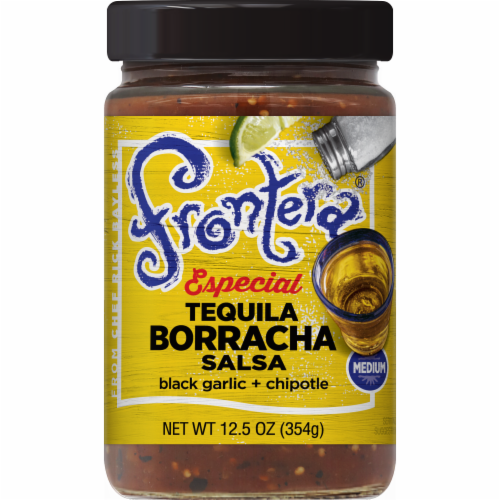 Frontera Especial Tequila Borracha Salsa Perspective: front