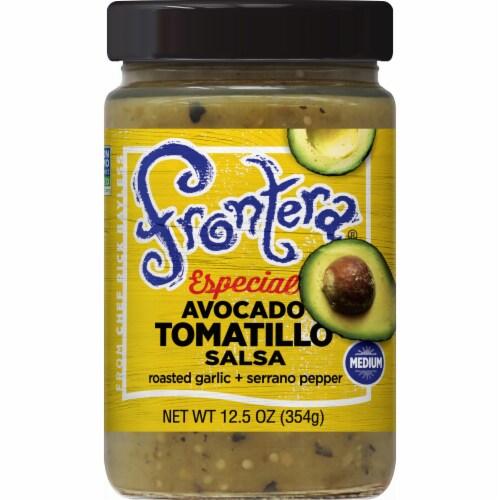 Frontera Especial Avocado Tomatillo Medium Salsa Perspective: front