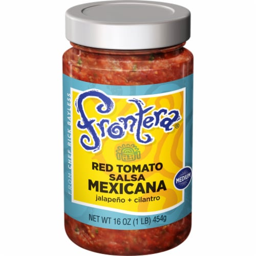 Frontera Red Tomato Mexicana Chunky Medium Salsa Perspective: front