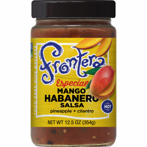 Frontera Especial Mango Habanero Salsa Perspective: front