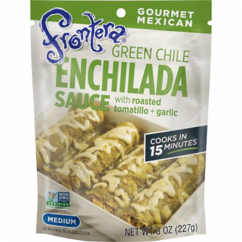 Frontera Green Chile Enchilada Sauce Perspective: front