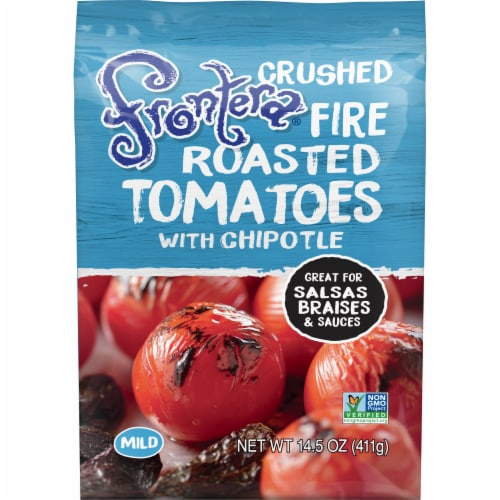 Frontera Crushed Fire Roasted Tomatoes with Chipotle Perspective: front