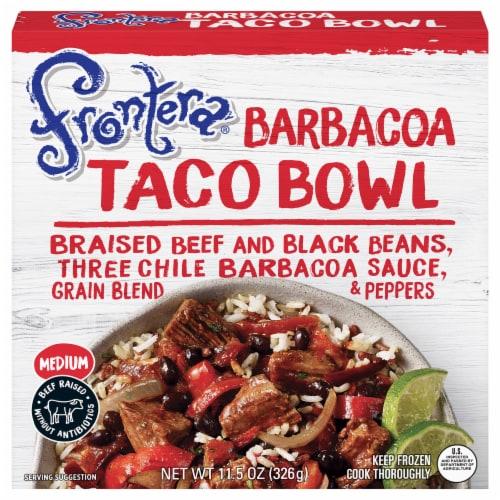 Frontera Barbacoa Taco Bowl Perspective: front