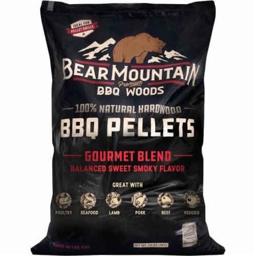 Bear Mountain BBQ Premium Woods 20 Lb. Gourmet Blend Wood Pellet FK99 Perspective: front
