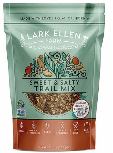 Lark Ellen Farm  Organic Trail Mix   Sweet & Salty Perspective: front