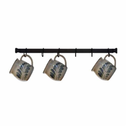 Village Wrought Iron CR-24 24 in. Cup Rack Perspective: front
