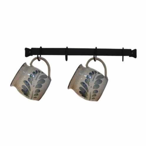 Village Wrought Iron CR-16 16 in. Cup Rack Perspective: front