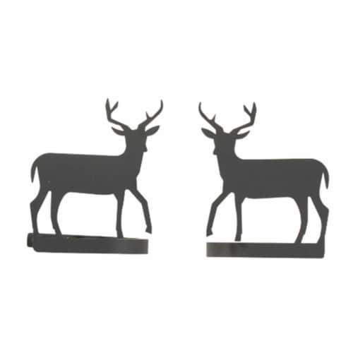 Deer - Curtain Tie Backs Perspective: front