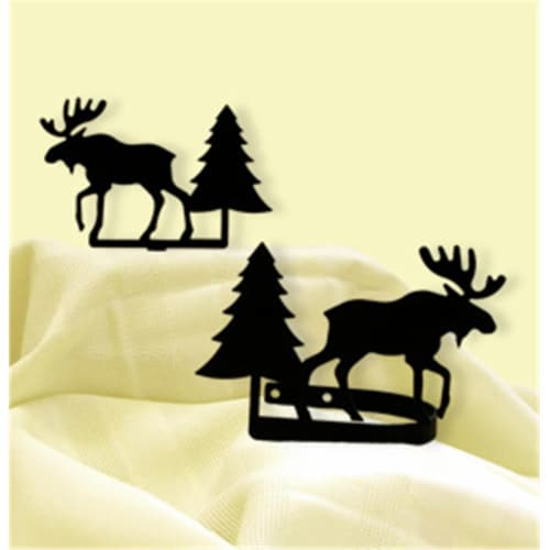 Moose & Pine - Curtain Tie Backs Perspective: front
