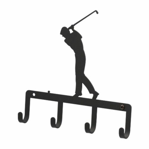 Golfer - Key Holder Perspective: front
