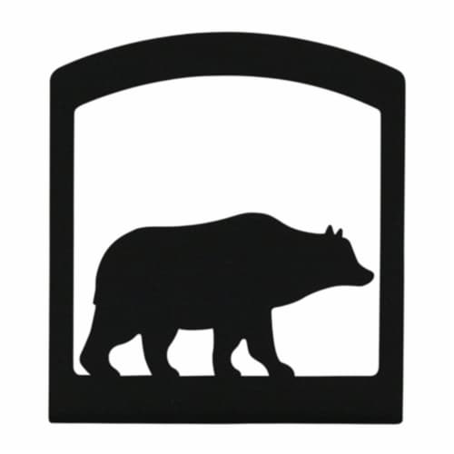 NH-14 Bear - Napkin Holder Perspective: front