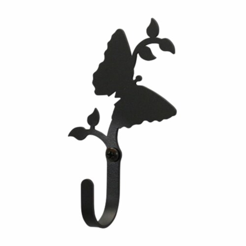 4.75 Inch Butterfly Wall Hook Small Perspective: front
