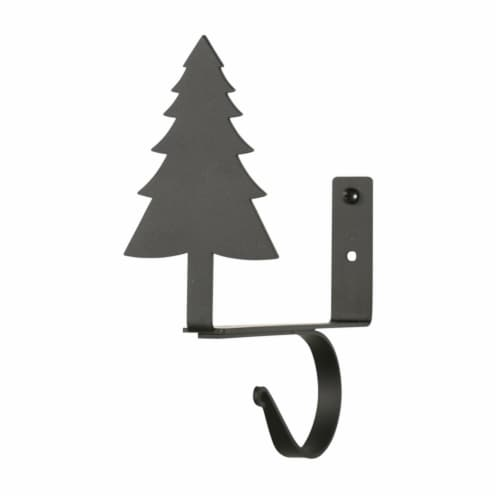 Pine Tree - Curtain Shelf Brackets Perspective: front