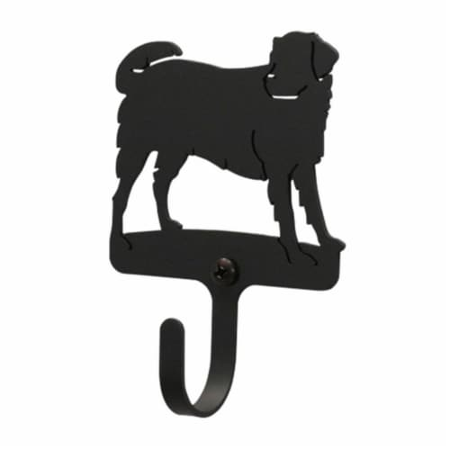 3 Inch Dog Wall Hook Extra Small Perspective: front