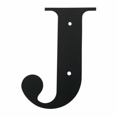 Letter J Medium Perspective: front