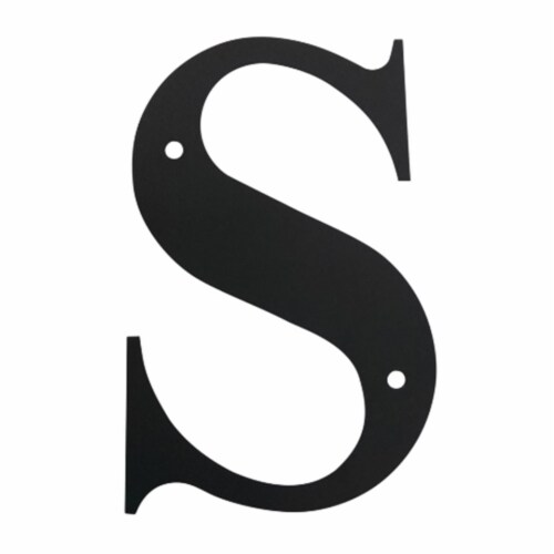 Letter S Medium Perspective: front