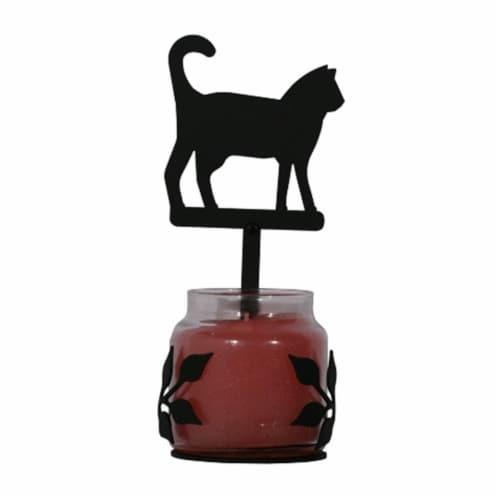 Cat - Large Jar Sconce Perspective: front