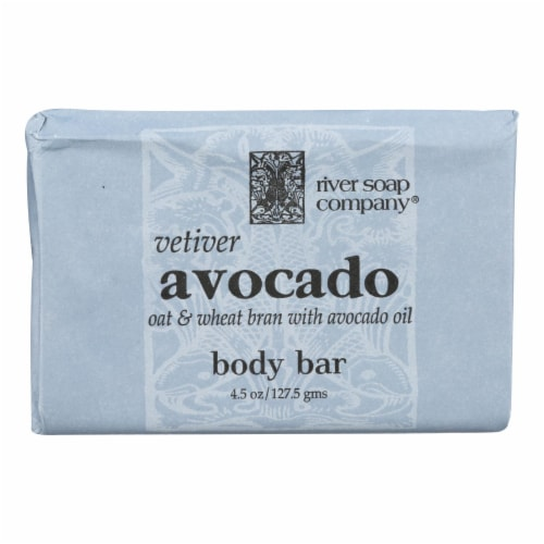 River Soap Company Vetiver Body Bar Perspective: front