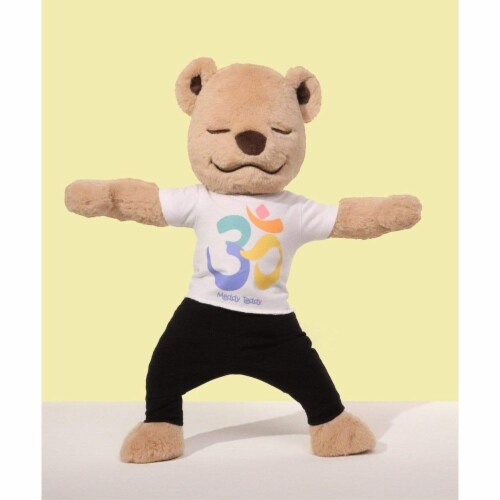 Om Shirt - Yoga Shirt for Meddy Teddy Perspective: front
