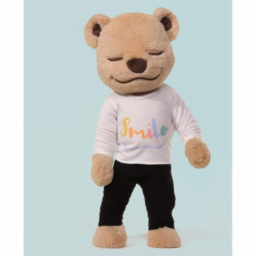 Smile Shirt - Yoga T-Shirt for Meddy Teddy Perspective: front