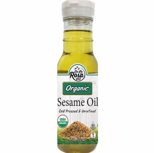 De La Rosa  Organic Sesame Oil Perspective: front