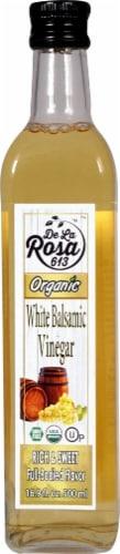 De La Rosa  Organic White Balsamic Vinegar Perspective: front