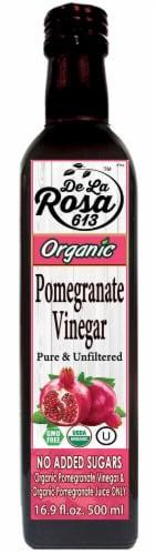 De La Rosa  Organic Pomegranate Vinegar Perspective: front
