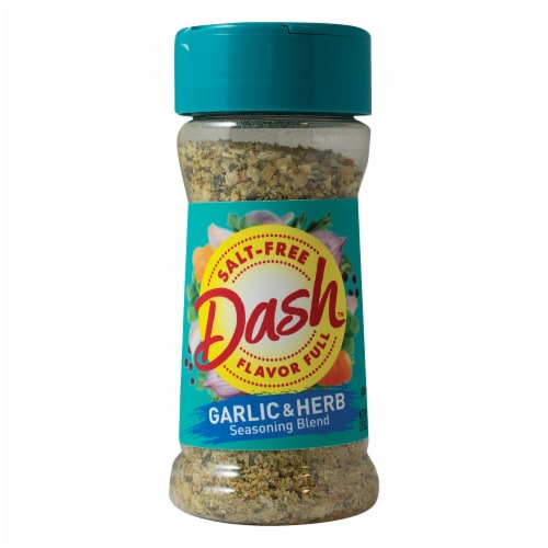 Mrs. Dash Salt-Free Garlic & Herb Seasoning Blend Shaker Perspective: front