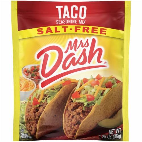 Mrs. Dash Salt Free Taco Seasoning Mix Perspective: front