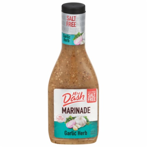 Mrs Dash Salt Free Garlic Herb Marinade Perspective: front