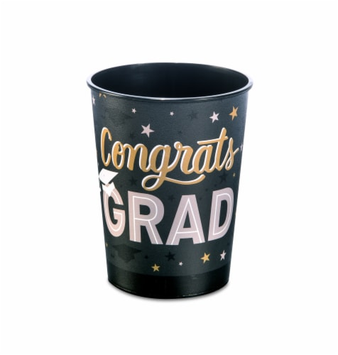 American Greetings Graduation Party Cups Perspective: front