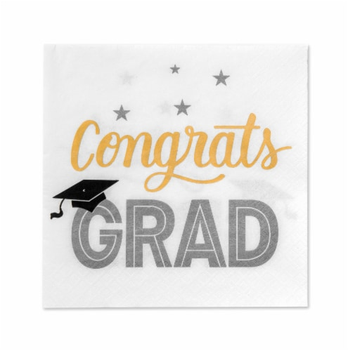 American Greetings Graduation Party Napkins Perspective: front