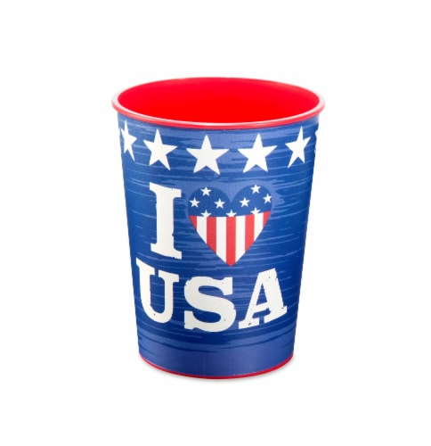 American Greetings Patriotic Party Cups Perspective: front