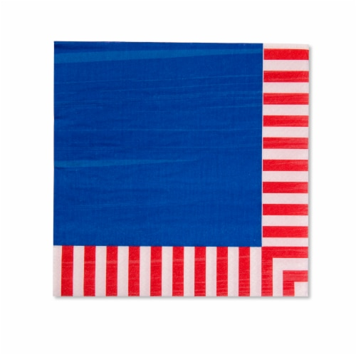 American Greetings Patriotic Paper Napkins Perspective: front