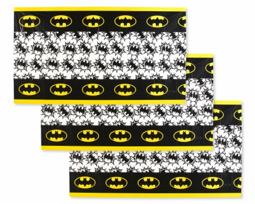 American Greetings Batman Plastic Table Covers Perspective: front