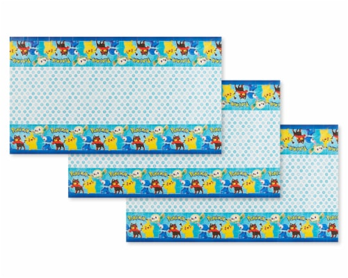 American Greetings Pokemon Plastic Table Covers Perspective: front