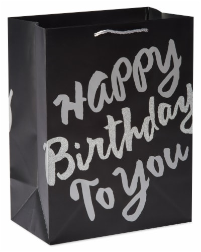 American Greetings #3 Birthday Gift Bag Perspective: front