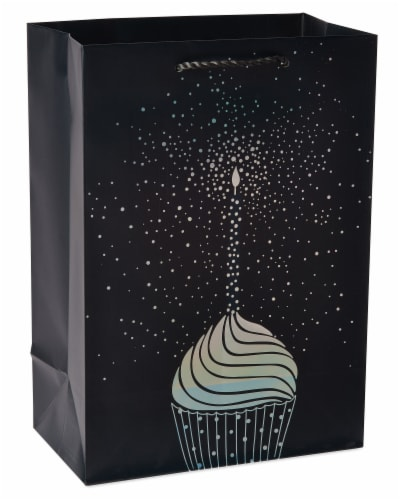 American Greetings #5 Birthday Cupcake Gift Bag Perspective: front