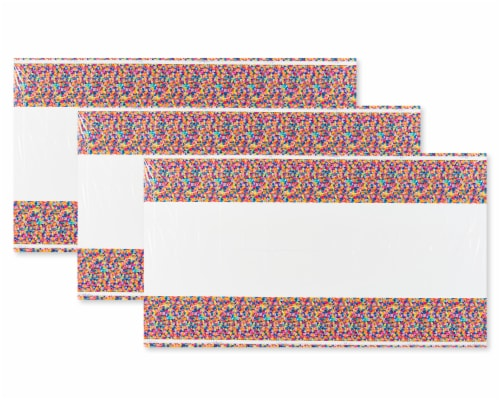 American Greetings Confetti Birthday Table Cover Perspective: front