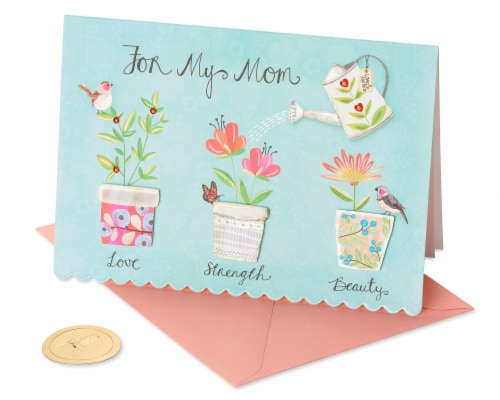 Papyrus Mother's Day Card (Helped Me Grow) Perspective: front
