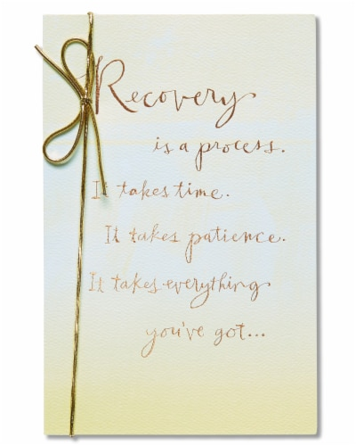 American Greetings Get Well Soon Card (Recovery) Perspective: front