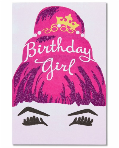 American Greetings Birthday Card for Her (Fabulous Day) Perspective: front