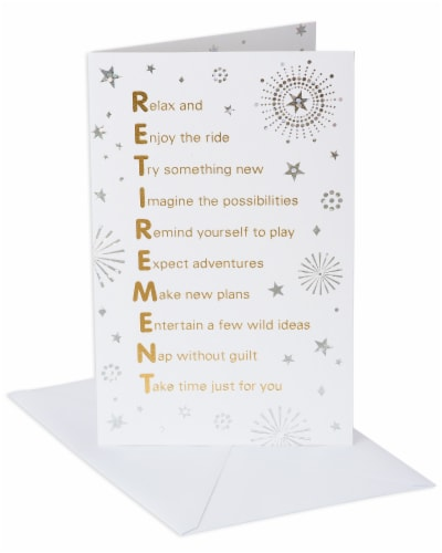 American Greetings Retirement Card (Time of Your Life) Perspective: front