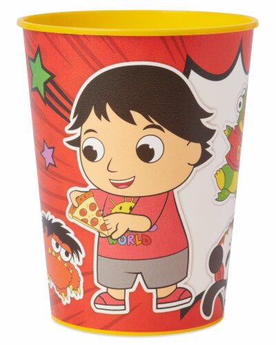 American Greetings Ryan's World Plastic Party Cups Perspective: front