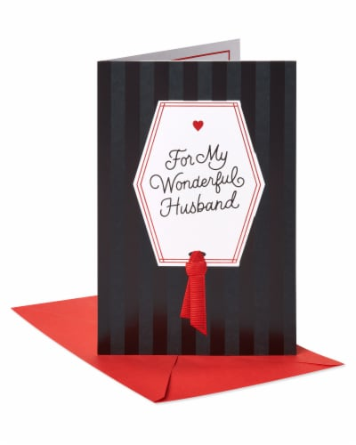American Greetings #62 Valentine's Day Card for Husband (My Love) Perspective: front