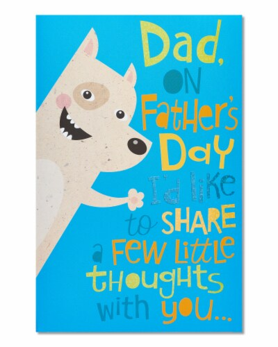 American Greetings Father's Day Card (Little Thoughts) Perspective: front
