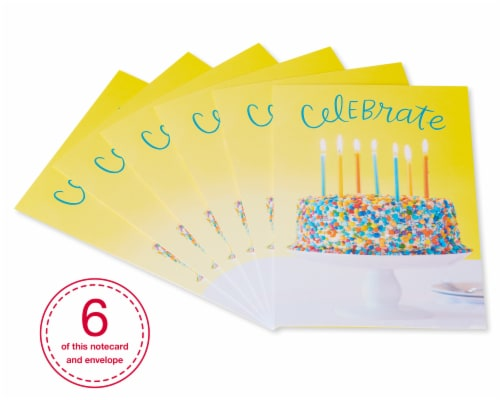 American Greetings #32 Birthday Cards (Celebrate) Perspective: front